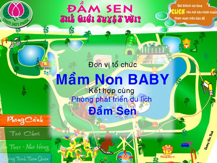 PHẦN 5: BABY tham quan Đầm Sen 5/2009